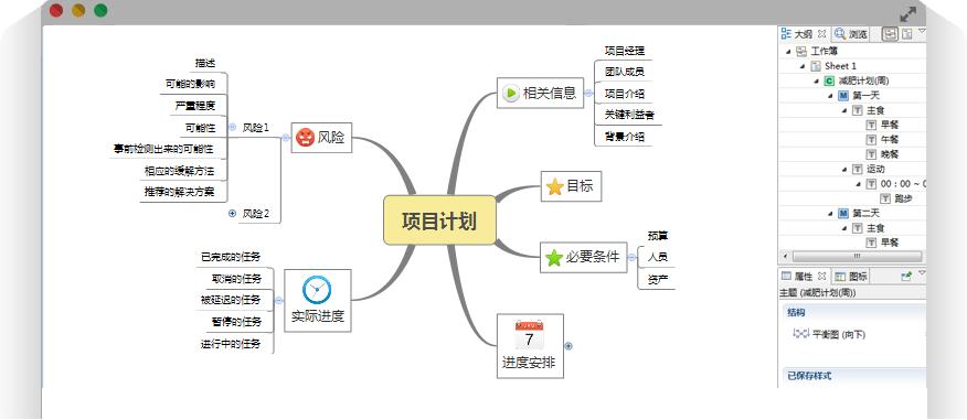 XMind 思维导图软件 - 流行思维导图软件,打造易用、美观、高效的可视化思维管理工具。(仅PC电脑可用)